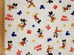 Mickey Mouse Oh Boy material - Fabric - Price Per Metre